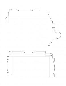 Frederick Kinsman House moulding profile line arts.
