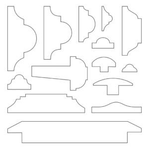 Astragal Moulding Profiles