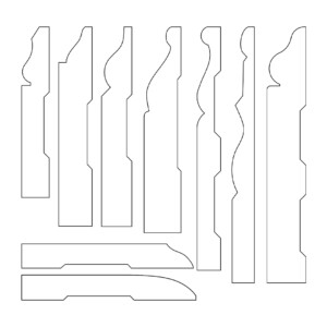 Wood Baseboard Mouldings